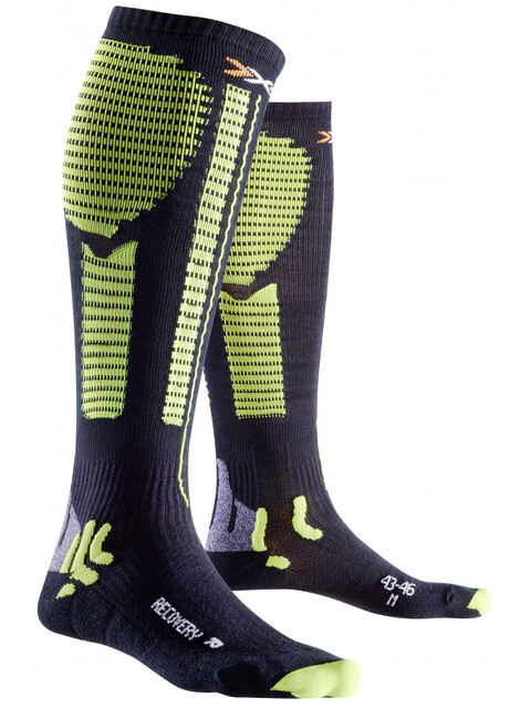 X-Bionic Precuperation Recovery Socks Men Black/Acid Green
